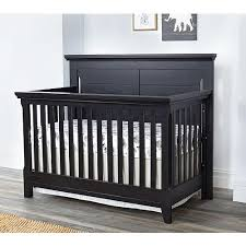 Black 4 In 1 Convertible Crib Baby Cache Overland 4 In 1 Convertible Crib Forever Black Baby