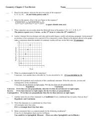 pre ap ib geometry chapter 2 test review sample answers what is