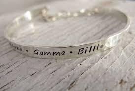 personalized bangle bracelet s bracelet handsted cuff personalized