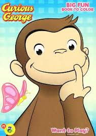 buy curious george super sticker coloring book cheap price