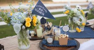 ideas for graduation party kara s party ideas to success denim graduation party