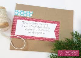 craftaholics anonymous mailing labels