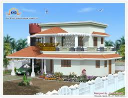Modern Duplex Plans Good Duplex Homes On Duplex House Plan And Elevation 3122 Sq Ft