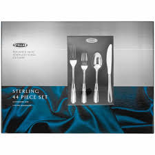 stellar sterling polished 44 piece cutlery gift box set bt58