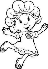 Precious Moments Halloween Coloring Pages Fifi And The Flowertots Coloring Pages Wecoloringpage
