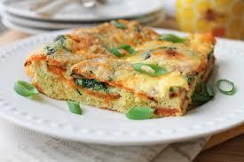egg strata casserole casserole with sweet potato spinach