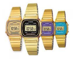 casio donna piccolo orologio donna casio vintage la 670wg gold acciaio dorato classico