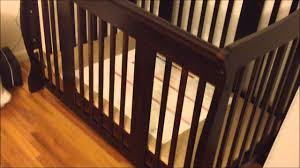 stork craft tuscany 4 in 1 stages crib review youtube