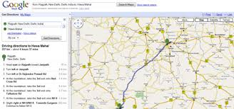 maps directions find detailed driving directions for indian cities from