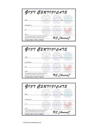 Free Blank Gift Certificate Templates Free Printable Blank Gift Voucher Certificate Sample With Tribal