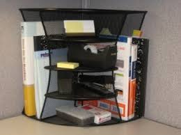 Corner Desk Organizer Maximize Cubicle Storage With A Variety Of Cubicle Shelves