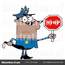 policeman clipart 223244 illustration by hit toon