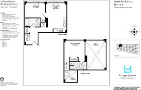 Regent Residences Floor Plan by The Zenith 9 Regent St Jersey City Nj 07302 Liberty Harbor