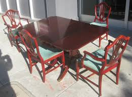 Duncan Phyfe Dining Room Table And Chairs Duncan Phyfe Dining Table Style The Clayton Design