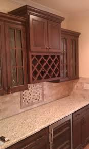 Kitchen Cabinets With Wine Rack by Kitchen Cabinet Wine Rack Ideas Home Design Ideas
