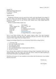 contoh surat pernyataan untuk melamar kerja 25 contoh surat lamaran kerja yang baik dan benar doc update