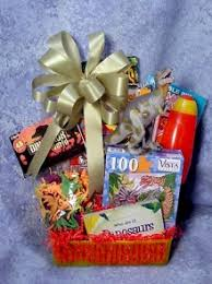 cool gift baskets dinosaur gift basket for children ages 3 10