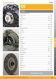 tractor parts volume 1 clutch page 947 sparex parts lists