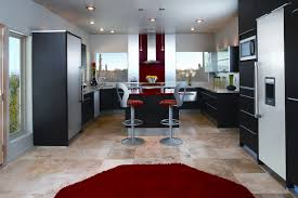 Red Kitchen Faucet Kitchen Rugs Red And Black Red Kitchen Rugs With Passionate Look