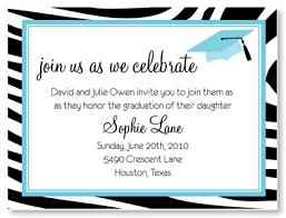 graduation lunch invitation wording zebra graduation cap invitation myexpression 20104