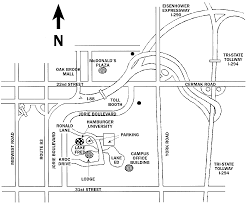 Illinois Toll Plaza Map by Hamburger University Campus Map Midwest Facilitators U0027 Network