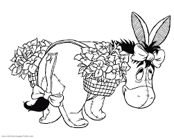 winnie pooh colouring pages coloring
