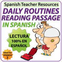 spanish reading passages for comprehension lecturas en español