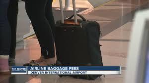 united airlines baggage fee international united to charge fee for overhead bin youtube