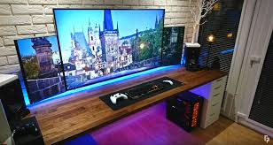 gaming setup ps4 20 best gaming setups of 2017 that will blow your mind