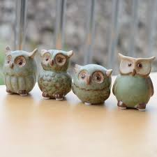 owl home decor ceramic owl home decor arts and crafts creative gifts mini lovely