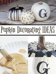 halloween craft ideas 5 ways to decorate a pumpkin a little