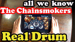 real drum tutorial rude all we know the chainsmokers ft phoebe ryan real drum cover