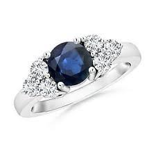 Diamond Sapphire Wedding Ring by Diamond And Sapphire Wedding Ring Ebay