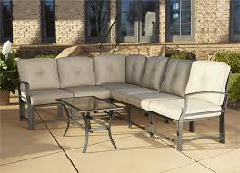 Patio Furniture Sectional Seating - cosco outdoor products cosco outdoor 7 piece serene ridge