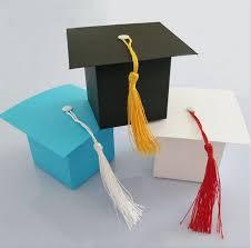 graduation box 300pcs doctor hat cap candy box gift bag graduation celebration