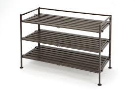 seville classics 3 tier resin wood shoe rack walmart canada