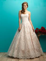 wedding dress korean 720p 2017 strapless sweetheart a line lace ivory chagne