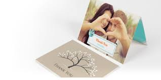 personalised wedding baby thank you cards vistaprint