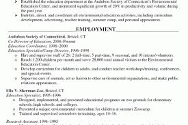 resume samples of education
