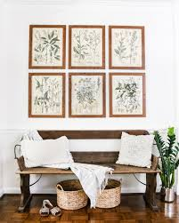 wall decorations for living room botany printable art and a wall decor hanging trick bless u0027er house