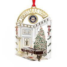1998 white house ornament steinway piano in entrance cross