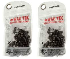 chainsaw chain pack of 2 fits mcculloch mac cat 335 435 436 438