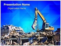 demolition powerpoint template is one of the best powerpoint