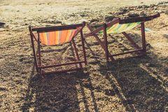 two beach chairs stock photos royalty free images