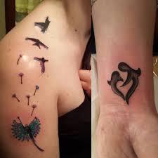 unique mother daughter tattoo ideas best tattoo 2017