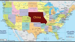 China On A Map by China Poised To Demand Us Land As Payment For Debt Youtube