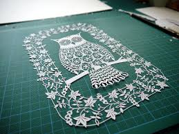incredible paper art hand cut from single sheets of paper by suzy