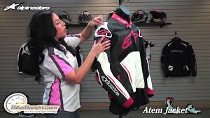 sport bike leathers alpinestars atem leather motorcycle jacket at bikebandit com youtube