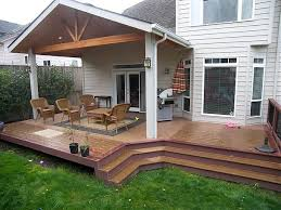Deck With Patio Designs Covered Deck And Patio Designs Decks Patios Covered Patio Design