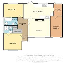 2 bed detached bungalow for sale in stapes garth grainthorpe ln11